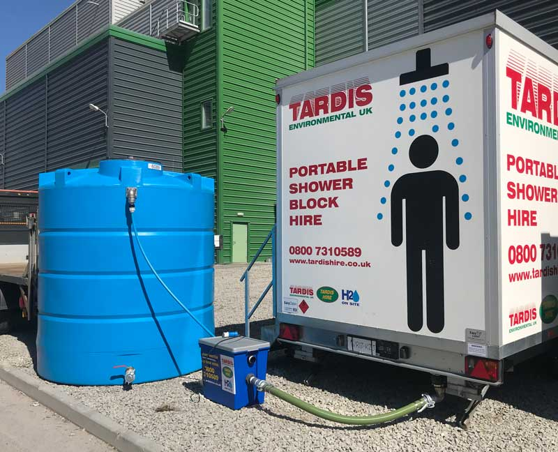 static water tank