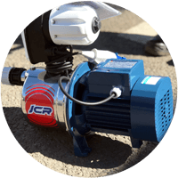 electric water pump hire