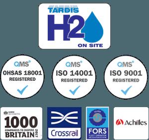 Tardis H2O Footer Logos