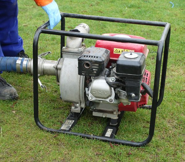 Water Pump Rental | Different types of pumps for construction sites