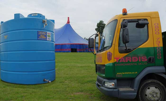 Event Water Solutions- Bulk Water for Events & Festivals