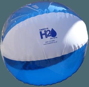 Tardis World Cup beach ball
