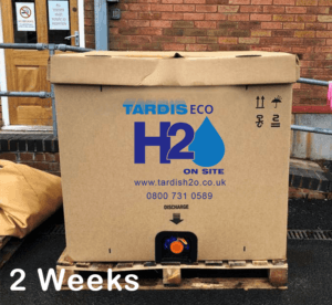 Tardis Eco H2O after 2 weeks