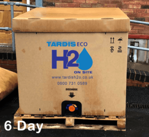 Tardis Eco H2O day 6