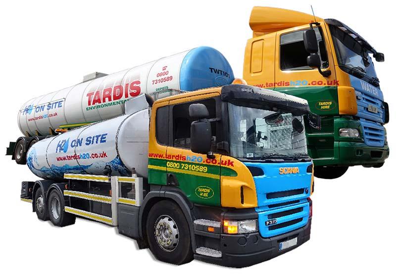 water tanker fleet