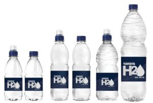 bulk bottled water range