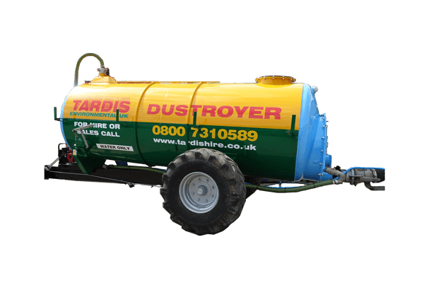 dust suppression bowser