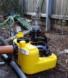 water macerator pump